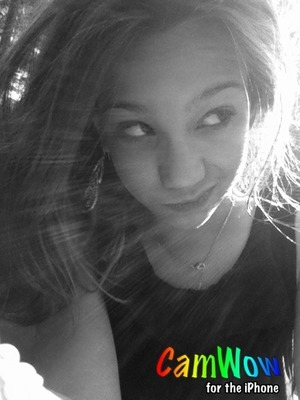 It came out looking really professional with the sun and everything but I just used camwow lol