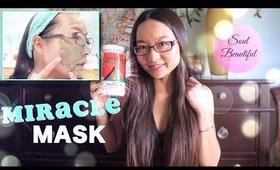 WORLDS MOST POWERFUL MASK? Aztec Secret Indian Healing Clay Review + Demo