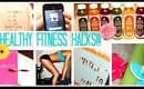 Fitness & Weight Loss HACKS! DIY Juice Cleanse, Gym Planner + MORE! 2015