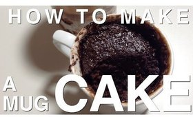 HOW TO MAKE A MUG CAKE | STYLETHETWO