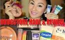 NEW Drugstore Haul, Review, Sally Hansen Colorfast Tint Balm, Vaseline Spray Go