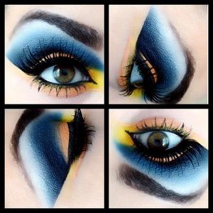 Follow me on instagram for more looks @makeupmonsterkiki!