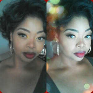 diva and russian red by mac and bh cosmetics