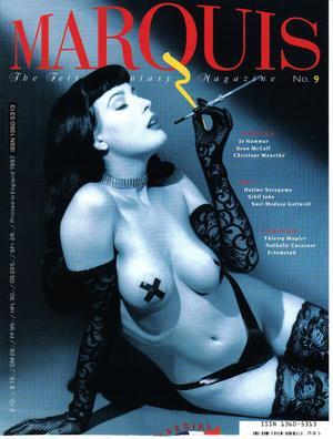 Marquis No.9 Cover. Dita Von Teese. Make Up by Darilynn