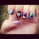 eye triangle nails