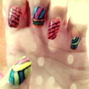 my nails, just with imagination