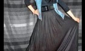 LookBook Featuring Hijab-ista.com New Maxi Skirt :)