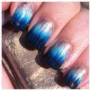 Ombre Dip Dye Nails