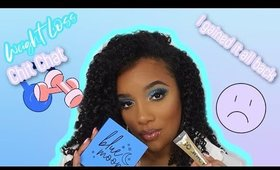 Girl Chat: Giving up on my Weight Loss Journey ( Very Vulnerable ) | Blue Cut Crease  |@Leiydbeauty