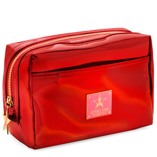 Holographic Makeup Bag Red