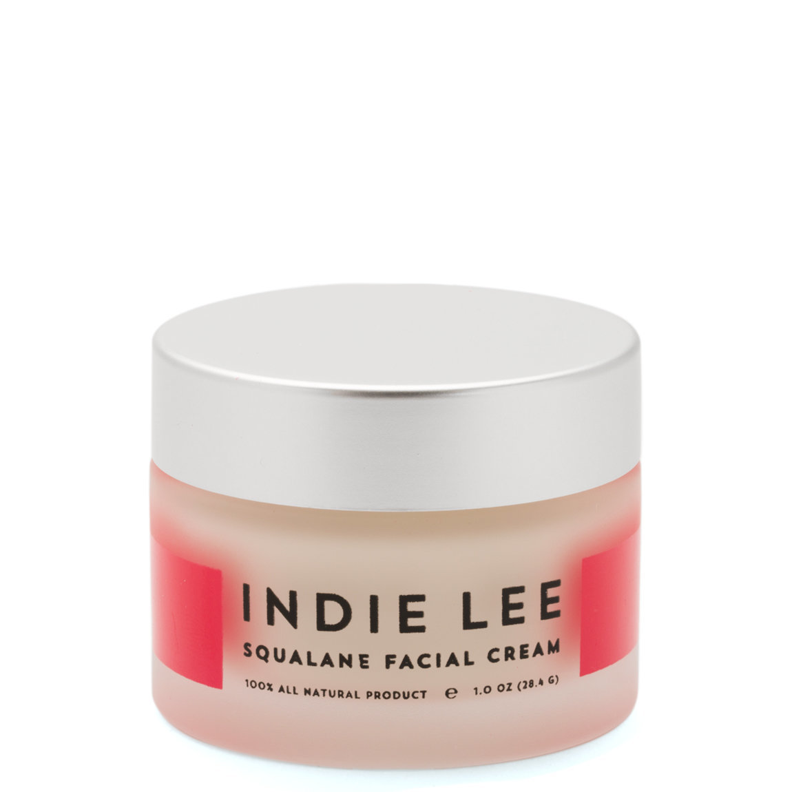 Indie Lee Squalane Facial Cream product smear.