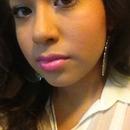 Pink pout!