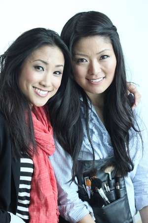The lovely Jane Kim gave me a gorgeous bridal makeover (sneak peak on our bridal series for next week)!