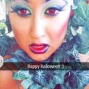 Halloween look poison ivy