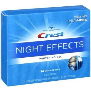 Teeth whitening....terrible product....try the strips much easier than the gel.