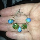 earrings made by my granddaughter and she is only 12
