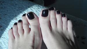 Dark wine color.. love it.