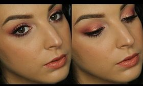 Coral & Gold Duochrome Makeup Tutorial ♥