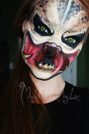 Alien vs. Predator, a video can be found on my youtube channel soon, www.youtube.com/madeyewlook. dont forget to check out my facebook page! www.facebook.com/madeulookbylex