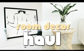 ROOM DECOR HAUL (ROOM MAKEOVER SERIES)  Amazon, Target, Urban Outfitters, World Market | Nastazsa