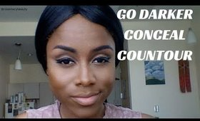 Conceal + Contour with Foundation | RosemaryBeauty