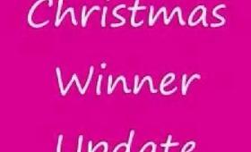 Christmas Contest Winner Update