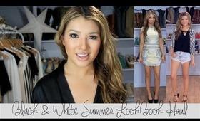 LookBook: SUMMER Black & White Haul with AprilAthena7