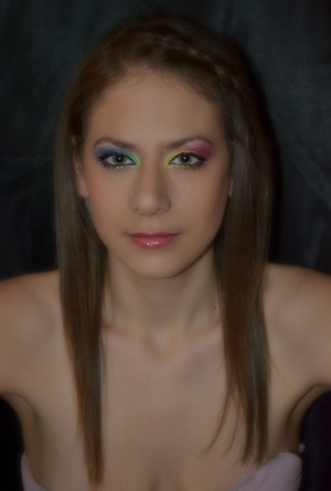 makeup and photography done by: myself  model: Madi Phillips
