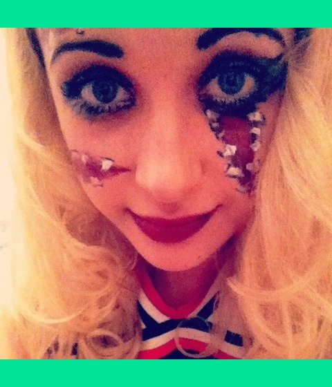 Halloween Fancy Dress, Zombie Cheerleader | Hannah H.\'s Photo ...