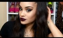 Fall Get Ready With Me - Smokey Eye & Dark Lips (start to finish makeup)
