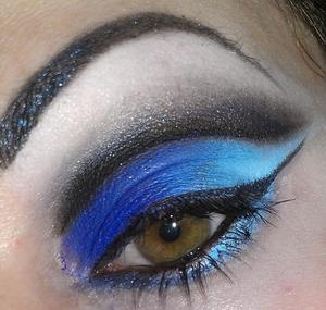 Inspired by Illyria from the TV show Angel