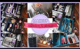 Makeup Collection and Storage Ideas