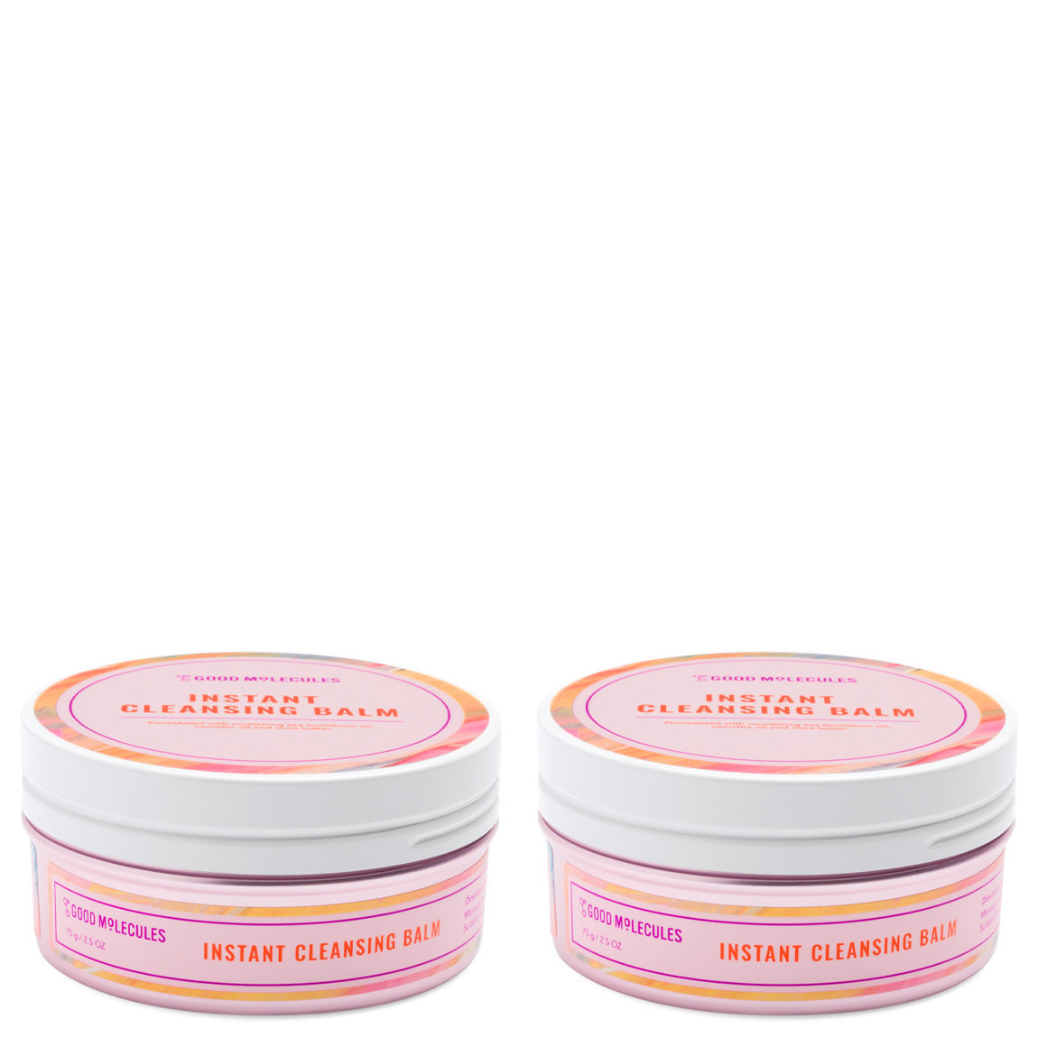 Good Molecules Instant Cleansing Balm 75 g Duo alternative view 1 - product swatch.