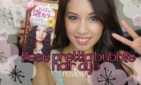 Liese Prettia Bubble Hair Dye in Royal Chocolate ♡ FULL REVIEW