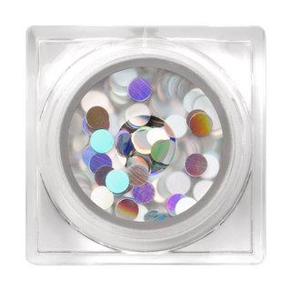 Holographic Glitter Pigment Disco Dots S3