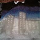 DIY nightlife sweatshirt