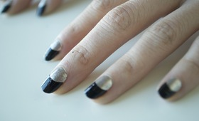 Half Moon Manicure Tutorial
