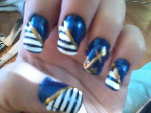 nautical/sailor (i have a issue with forgetting to clean my edges)