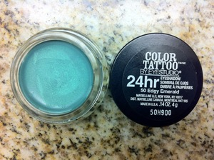 Maybelline's Color Tattoo - Edgy Emerald