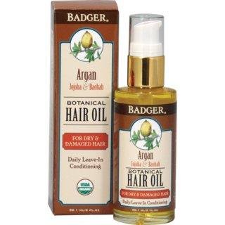 Badger Argan Hair Oil