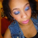 My make up of the night!