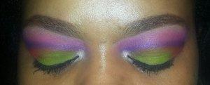 Colorful bold fun look!!!!!!??????