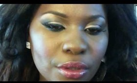 Tutorial: Cat Eye Winged Eyeliner