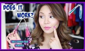 Tweezerman's Hair Remover Review & Demo!