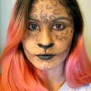 Halloween Leopard Makeup