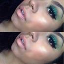 Soft Smokey green