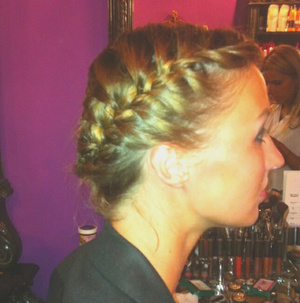 french braids are fun, easy and super cute