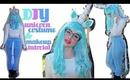 DIY Unicorn Costume and Makeup Tutorial