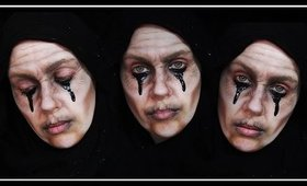 BANSHEE Makeup Tutorial | The Wailing Woman/ Witch Makeup | LetzMakeup