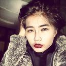 make up in tonight, Do I look like vampire?:-)